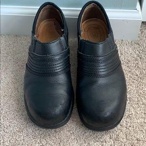 Black Ariat Steel Toe Clogs